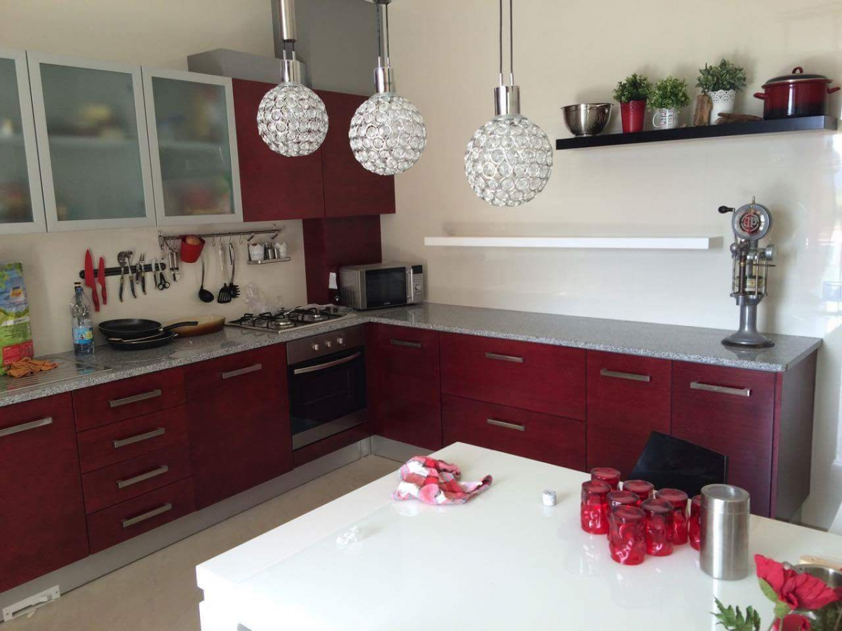 Cozinhas De Madeira Cozinha Compacta Decibal New Open Portas E